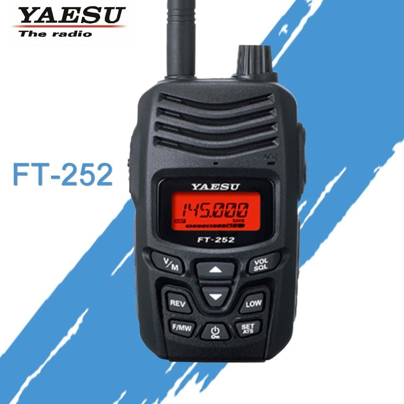 YAESU Walkie Talkie for FT-252 VHF 136-174MHz FM Ham Two way Radio Transceiver YAESU FT-252 Radio