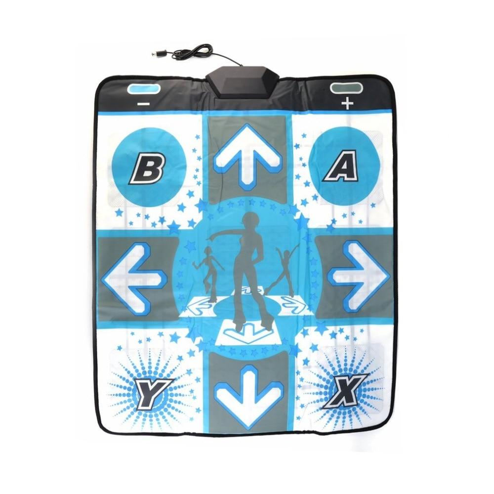 Alfombrilla de baile antideslizante para Nintendo de Wii, alfombrilla de baile USB, manta de bailarina para culturismo, Fitness, antideslizante para Wii PC