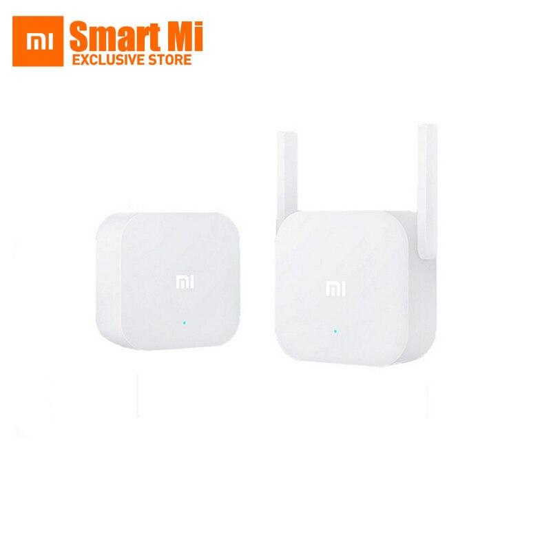 Kit de gato eléctrico Xiaomi Mi WiFi Original que incluye adaptador de WiFi y amplificador repetidor Sub extensor WiFi 2,4 GHz 300Mpbs