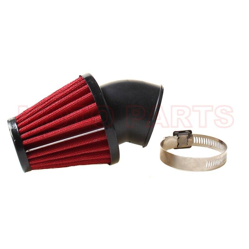Envío Gratis universal 48mm filtro de aire de la motocicleta abrazadera de filtro de aire limpiador