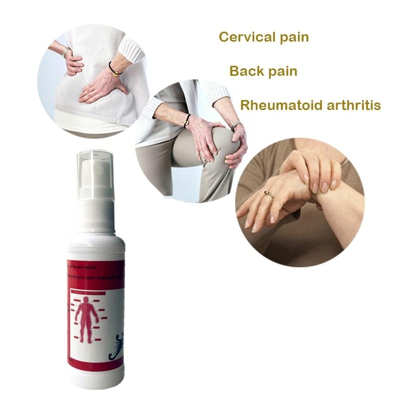 Veneno de escorpión aceite esencial medicado 50ml parches analgésicos cuello migraña rodilla ungüento para el dolor articular Far IR Musk Spray PW-01