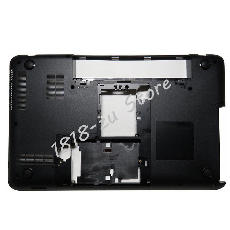 Yalumzu capa inferior para laptop, para toshiba l850 l855 c850 c855 c855d c850d v000271660 series notebook computador portátil d
