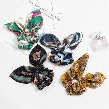 Accesorios para el cabello con lazo elástico de cinta de perlas bohemias para mujeres recién llegadas