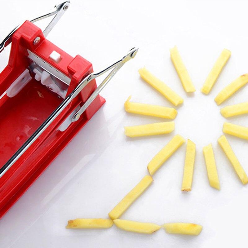 Cortador de patatas fritas cortador de calidad cortador de verduras para patata herramientas de cocina fáciles de limpiar