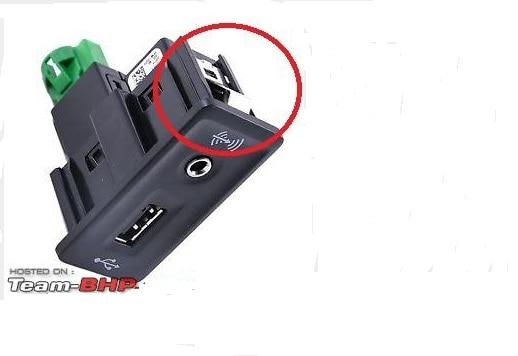 OEM CARPLAY USB AUX CarPlay MDI USB AMI تثبيت التوصيل المقبس تسخير للجولف 7 Mk7 5QD035762E 5G0035222E