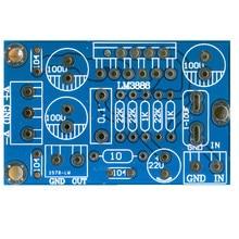 Ses güç amplifikatörü LM3886 tek kanallı PCB