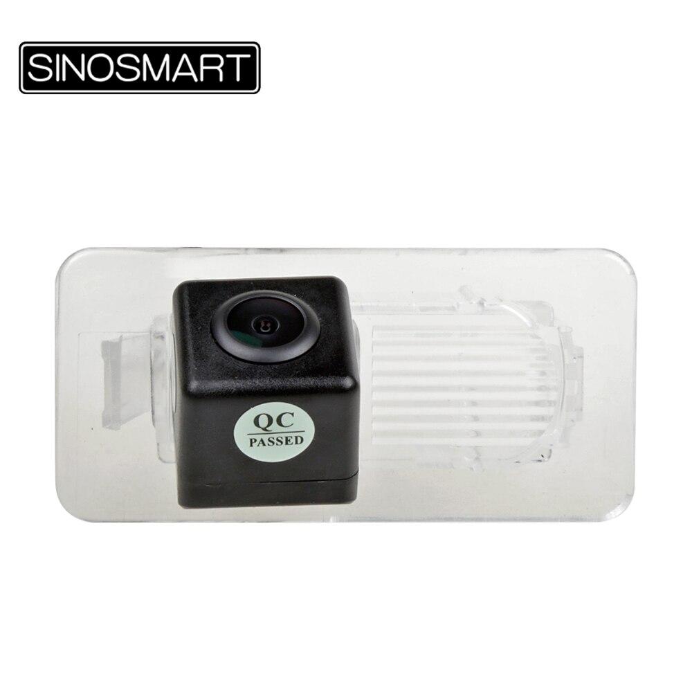 SINOSMART Car Parking Reverse Backup Camera for Toyota Vios/YARiS 2018 with Plastic Transparent Lamp Shade