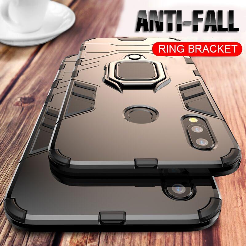 Для Huawei P30 P20 Mate 20 Pro Lite 9 10 Nova 3 3i 4 роскошный армированный чехол с кольцом для пальца для P Smart Y6 Y7 Y9 2019 чехол для телефона