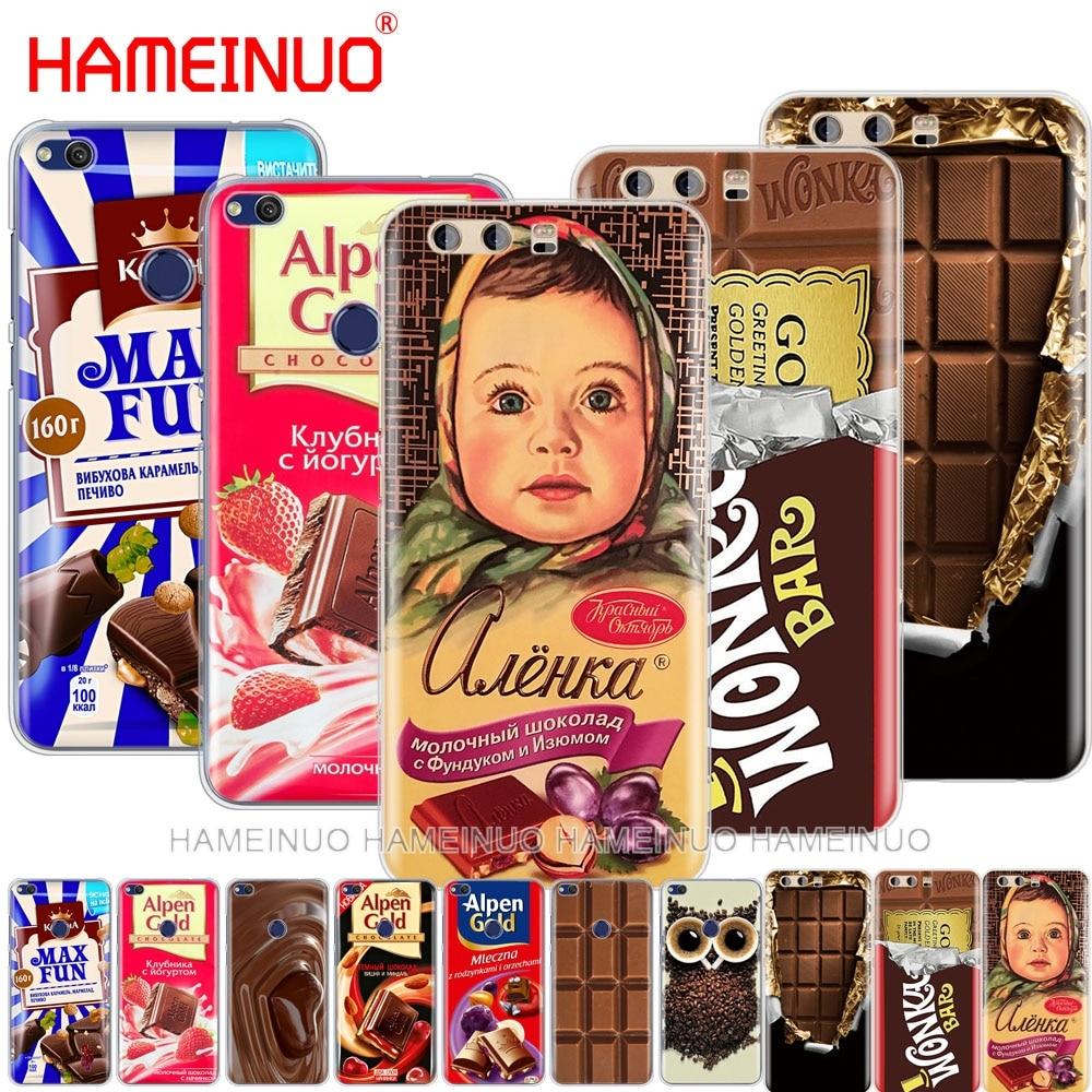 Alenka, carcasa para teléfono con barra de chocolate y wonka para huawei Ascend P7, P8, P9, P10, p20 lite plus pro G8, G7, 2017, mate 10 lite