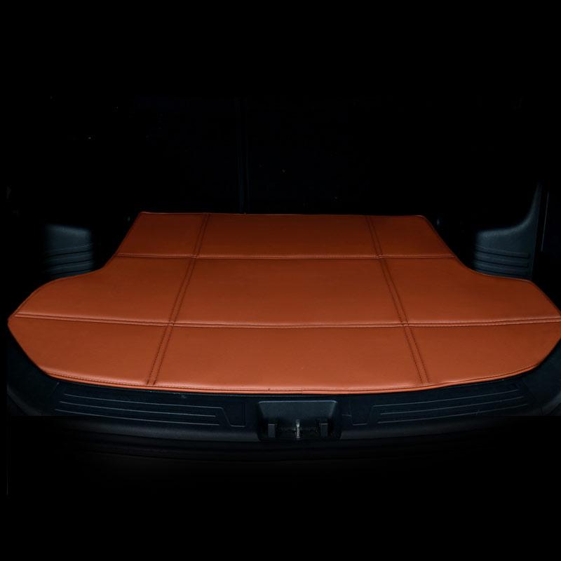 Traseira do carro carro mat tronco bota carga mat liner para acura rdx cdx, tesla model s, xe xf jaguar f-ritmo 2018 2017 2016 2015 2014 2013