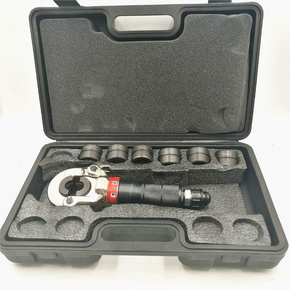 GC-1632H الأنابيب الهيدروليكية العقص أداة أدوات السباكة PEX الأنابيب اتصال أداة 16-32 سنتيمتر 60KN