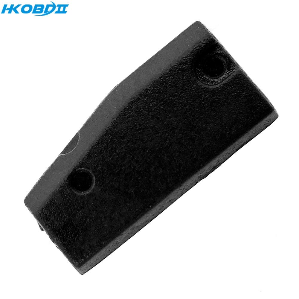 Hkobdii 5 pces original chip de transponder pcf7937ea 7937 pcf carbono em branco carro chave chip