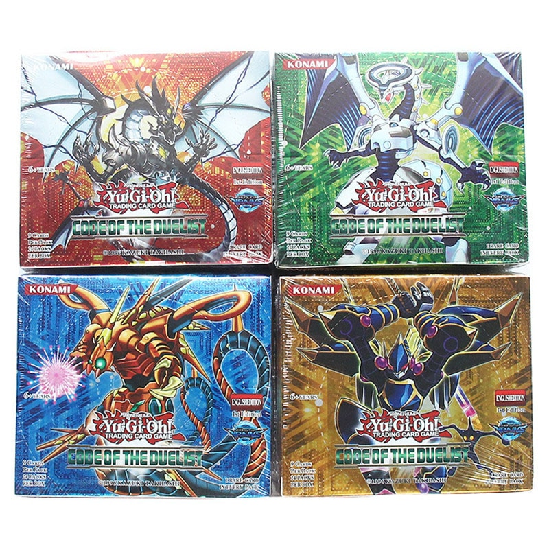 Yugioh Cards 216 pcs set with box yu gi oh anime Game Collection toys for children boys Brinquedo