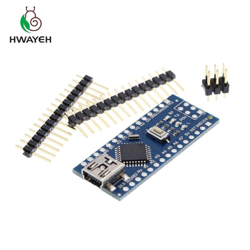 20PCS MINI USB Nano V 3,0 ATmega328P CH340G 5V 16M Micro-controller board für arduino NANO 328P NANO 3,0