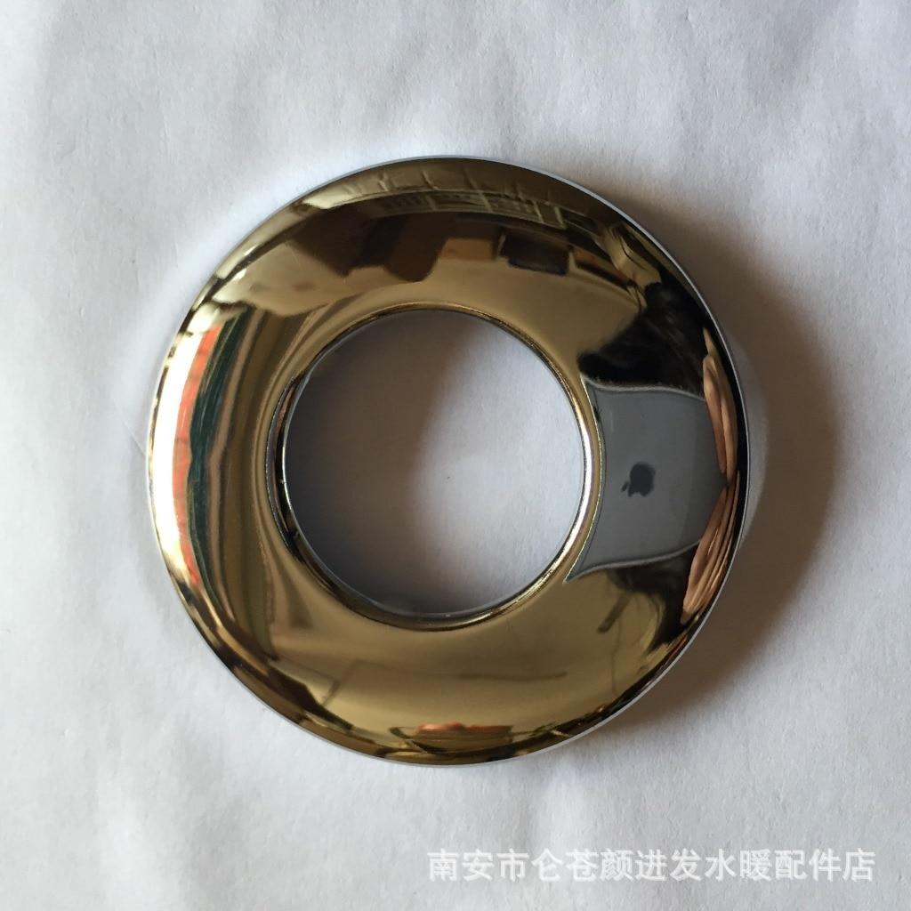 Cubierta decorativa de acero inoxidable de una pulgada Válvula de descarga (grosor), accesorios de cocina y baño, tapa del grifo de 1 pulgada