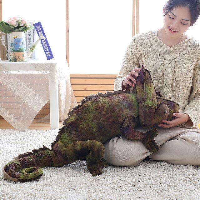 Реалистичная плюшевая подушка Lizard, высокое качество, для детей, подарок на день рождения, Рождество