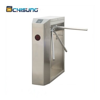 Subway or supermarket access control tripod turnstile gate / rfid turnstile / barrier gate security door