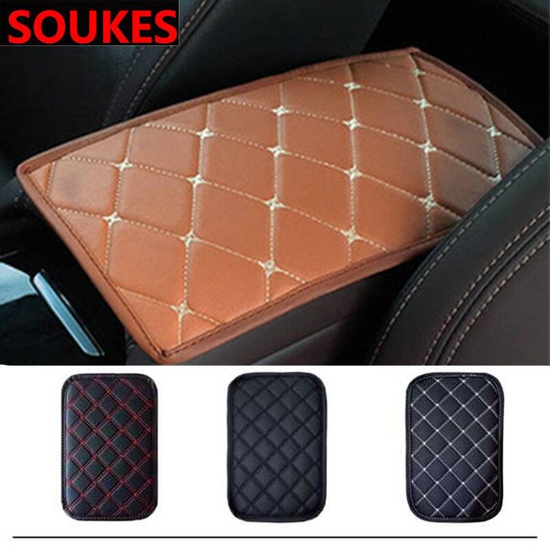 Samochód Stylling podłokietnik konsoli środkowej pudełko na waciki dla Toyota Corolla Avensis RAV4 Yaris Auris Hilux Prius verso MG 3 ZR Buick