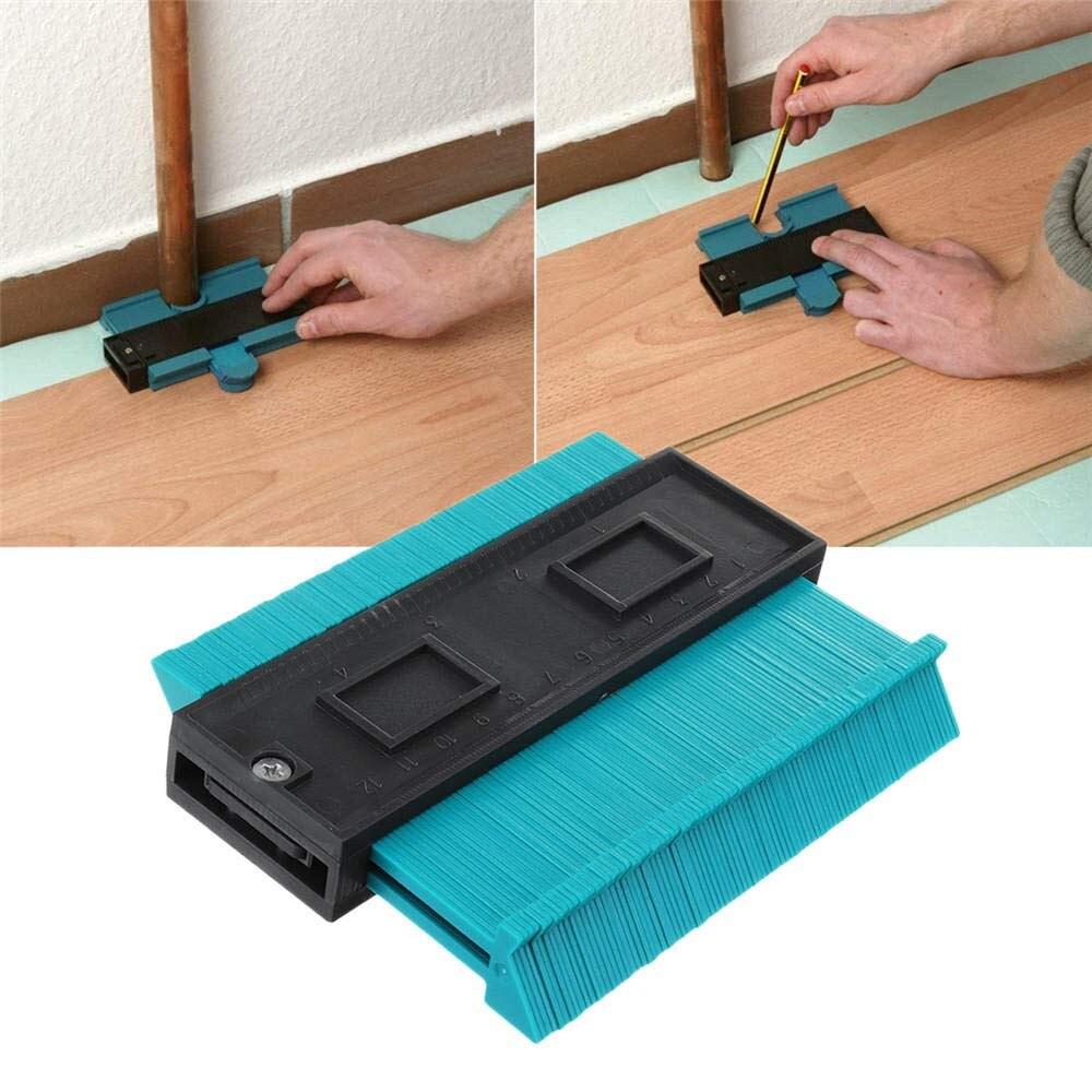 Herramienta de marcado de madera estándar de 4 pulgadas para duplicar perfiles de contorno de plástico, herramienta General de azulejos laminados # N