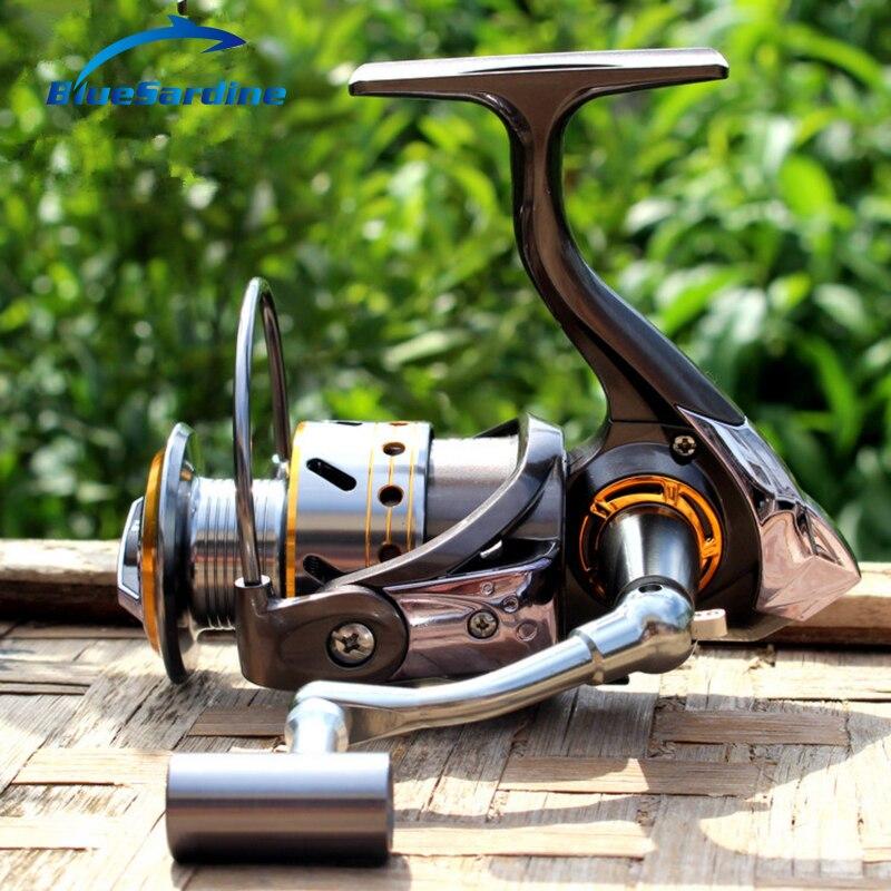 12 + 1 BB moulinet de pêche bobine de qualité bobine de métal bobines de pêche 5.2 1