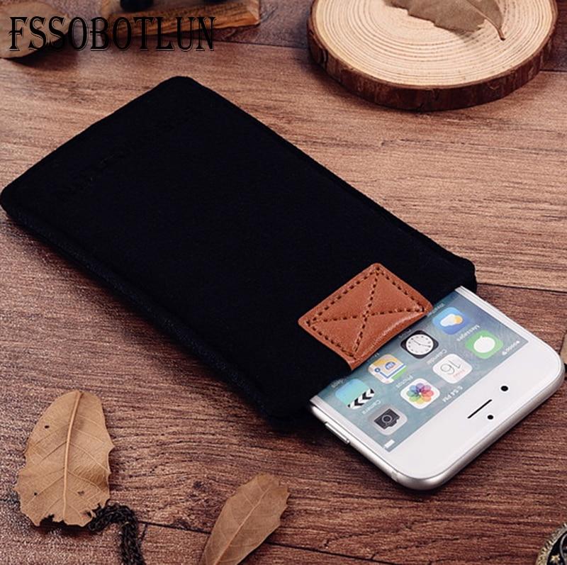 FSSOBOTLUN, 3 colores, para Acer Liquid Z530 funda de teléfono bolsillo funda protectora hecha a mano alfombrilla de fieltro de lana