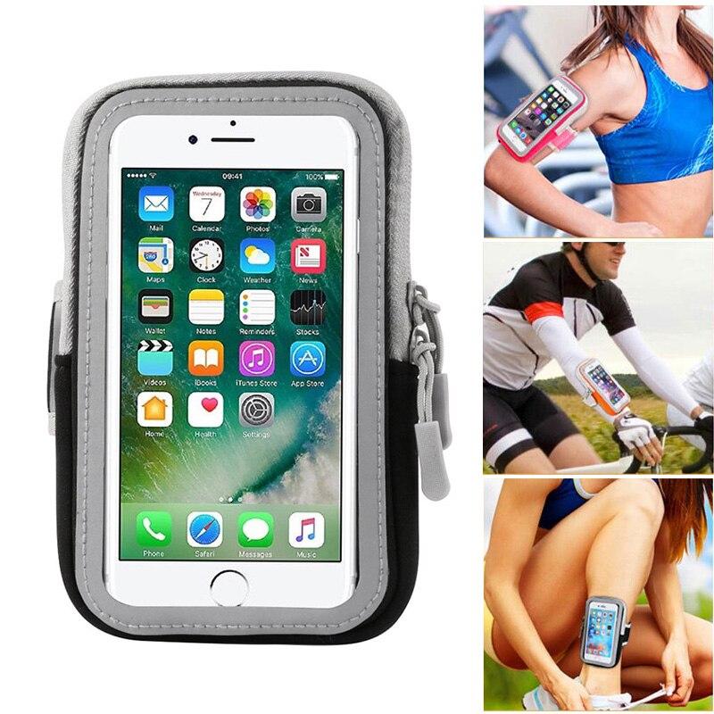 Brazalete para BQ Aquaris U2 U2 Lite, para correr, deportes, Fitness, móvil, funda resistente al agua para BQ Aquaris V Plus, bolso para brazo en la mano