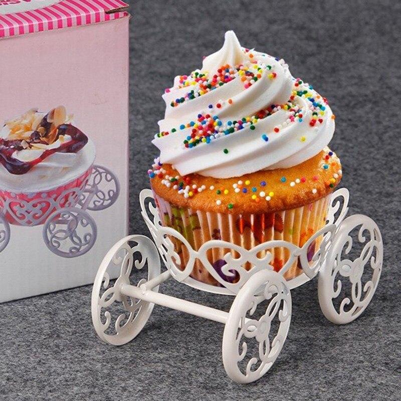 Новинка, металлическая подставка для кекса, для выпечки маффина, мороженого, кондитерских изделий, тортов, свадебного украшения для вечерин...