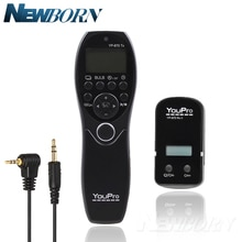 YouPro YP-870II E3 télécommande de minuterie dobturation sans fil pour Pentax K-5/K-5II/K-7/K30/K20D/K10D/K100D/K200D Contax 645/N1/NX/N Digital