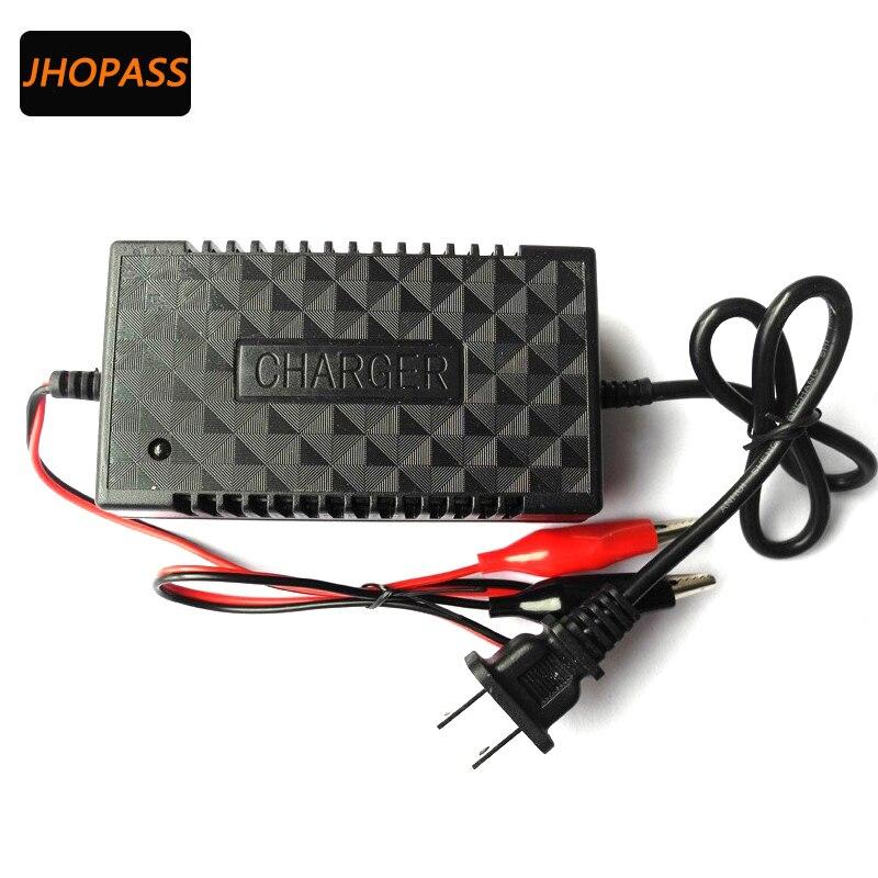 Cargador de batería inteligente de 12V LED para motocicleta 12V2A, cargador para GEL de 12V 3AH-25AH, AGM, batería VRLA