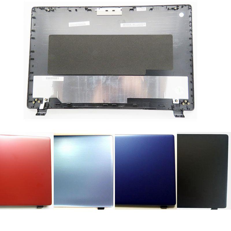 GZEELE جديد ل أيسر أسباير E5-511 E5-521 E5-531 E5-571 E5-511G LCD غطاء الكمبيوتر المحمول الغطاء الخلفي LCD الخلفية غطاء حالة AP154000410 الأحمر