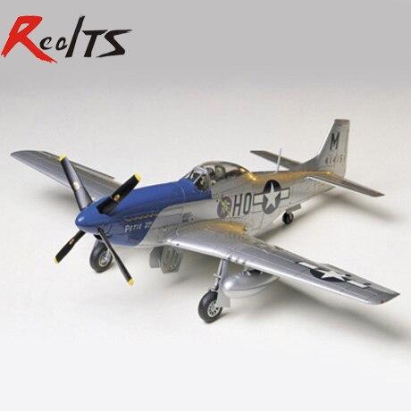 RealTS Tamiya 1/48 escala 61040 P-51D norteamericano Mustang 8th AF Kit de modelo