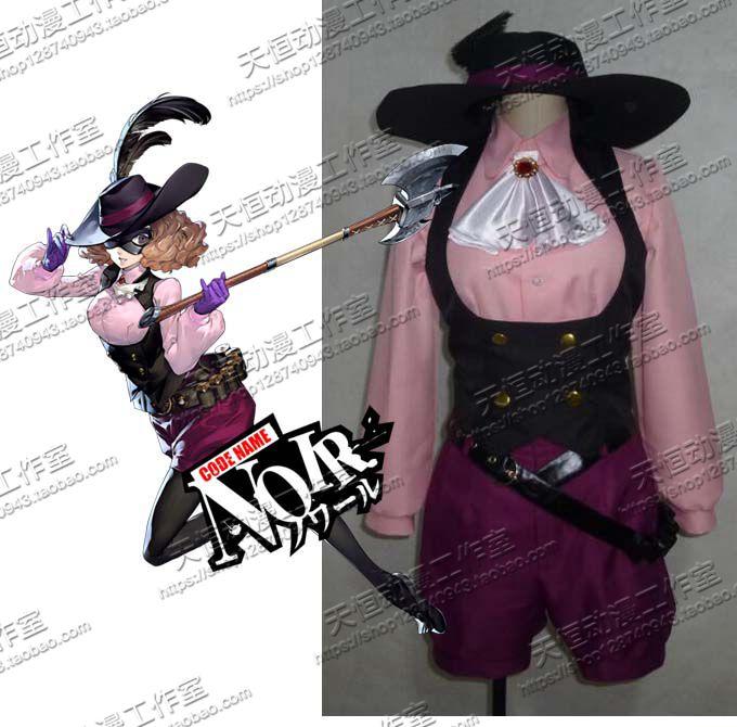 [STOCK] 2018 Anime Persona 5 Haru Okumura Uniform Cosplay Costume hat+shirt+vest+pants+socks+gloves+belt Halloween FreeShipping.
