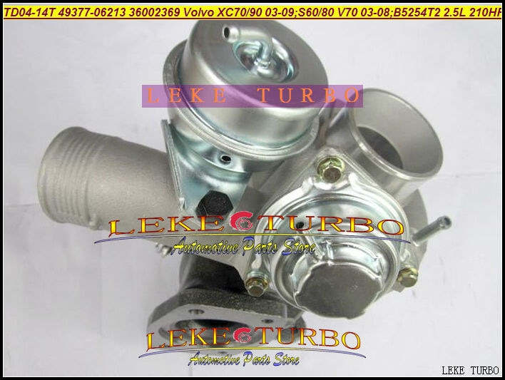 TD04L-14T-6 49377-06212 49377-06210 49377-06202 30650634 36002369 8603226 8692518 Turbocharger XC70 XC90 S80 B5254T N2P258LT
