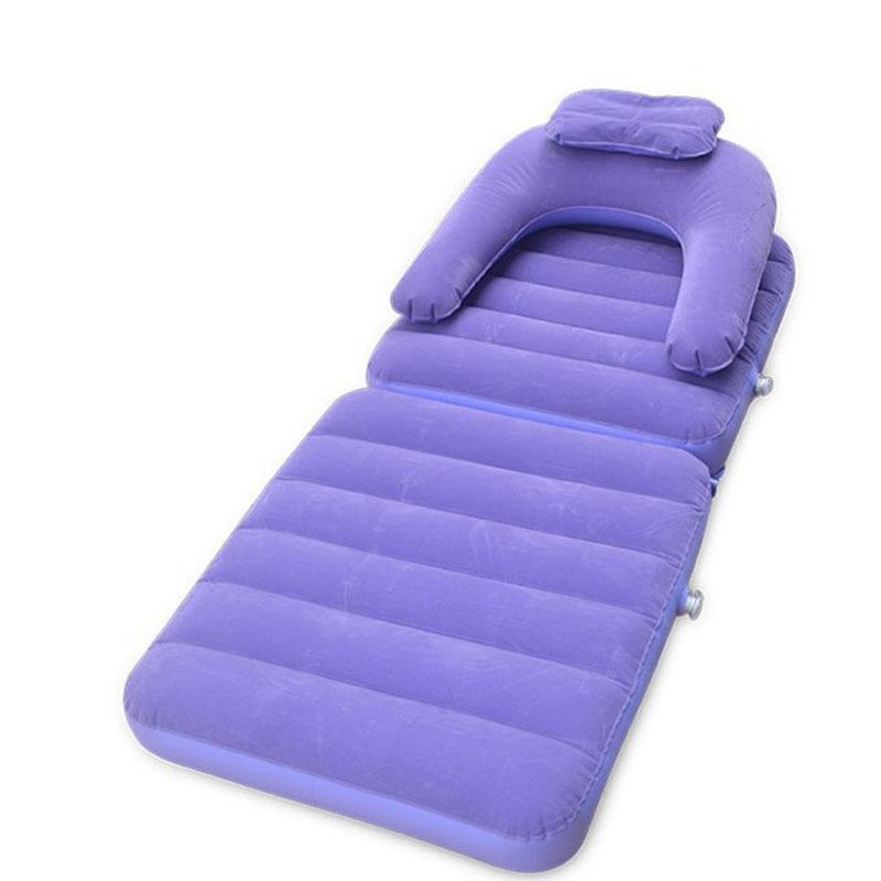 Sofá multifuncional de hinchado rápido de aire, sofá de Camping multifuncional, saco de dormir para perezosos, tumbona, cama, silla de Camping