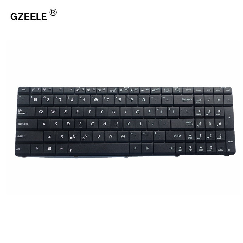 Клавиатура для ноутбука GZEELE, для Asus X55 X55A X55C X55U X55VD X75 X75A X75S X75U X75V X75VB X75VD K55 K55D K55DE K55DR