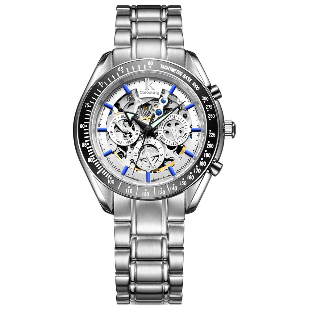 2019 New Automatic Machinery Men's Self-winding Watch Fashion, Leisure, Simple Leather Watchband Sports Waterproof Men's Watch
