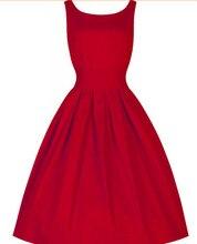 2020 venda quente verão longo vestido vintage audrey hepburn estilo retro vestido de baile vestido cintura pura swing magro plus size vestido