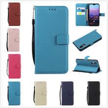 Кожаный чехол для телефона Huawei P20 Pro P8 P9 P10 Lite Honor 5X 6C 6X 8 10 Mate 7 8 9 10 Lite Nova 2i P, чехол с держателем для смарт-карты