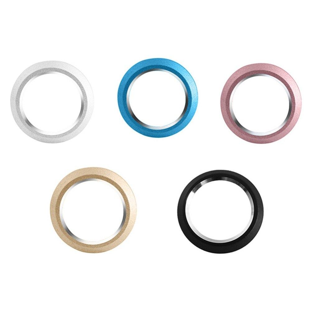 1 ud. Protector de lente de cámara de teléfono inteligente círculo protector de lente de cámara trasera carcasa anillo parachoques para iphone XR anillo de protección de lente