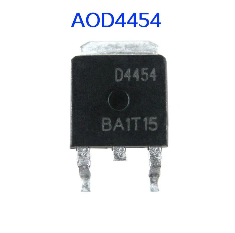 10 Uds D4454 AOD4454 A0D4454 24454 Cristal líquido energía MOS tubo parche TO-252 150 V/20A