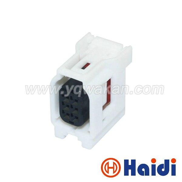 Envío gratis 2 juegos 6pin sensor de radar de reversa conector de arnés para 14 Corolla RAV4 Toyota cable conector 90980-12382