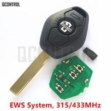 QCONTROL remoto de coche DIY para BMW EWS X3 X5 Z3 Z4 1/3/5/7 serie transmisor de entrada sin llave