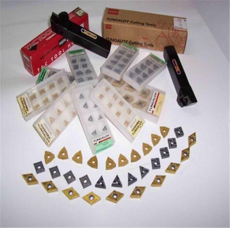 16IRAG60-B AH725 original inserto de carburo de roscado de Inserts10pcs/lote envío gratis