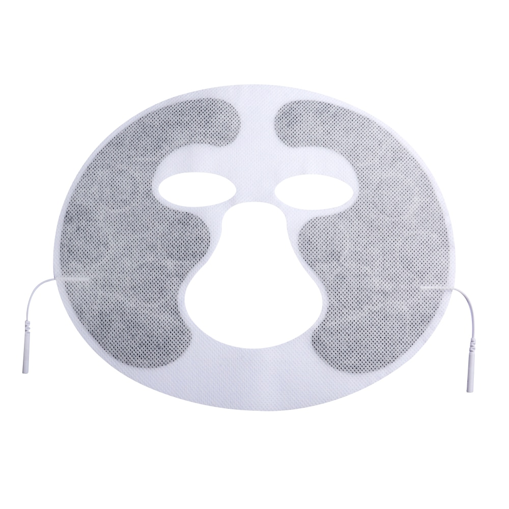 2pcs/lot face Tens Machine Facial beauty Electrode Pads with cable for full body massager pulse therapy machine pad
