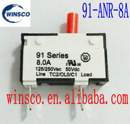 91-ANR-8.0A 100% KUOYUH 8A disyuntor 91 ANR serie 8A