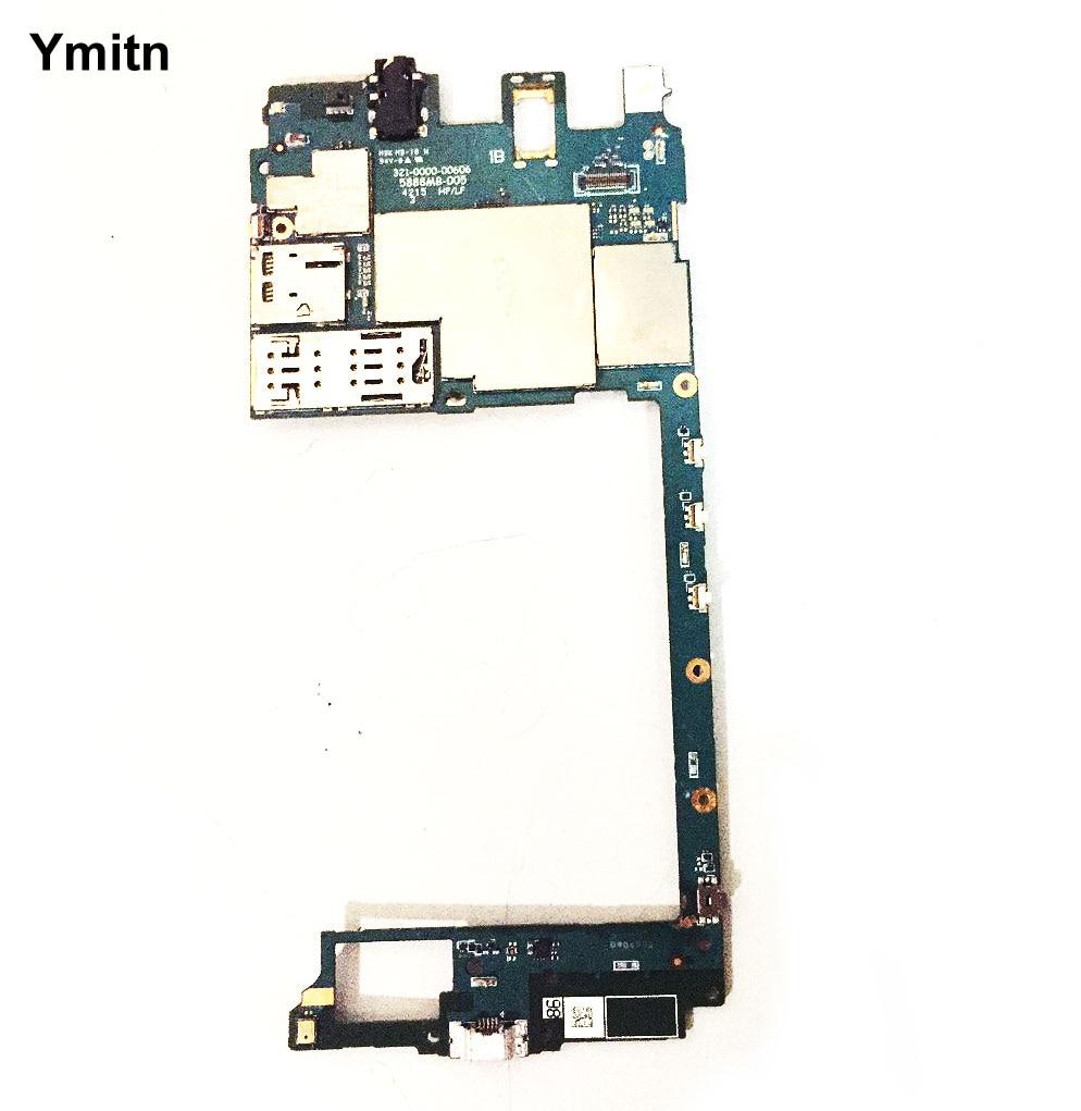Ymitn-اللوحة الرئيسية لجهاز Sony Xperia C5 Ultra E5506 E5553 E5533 E556 ، اللوحة الإلكترونية ، مع كابل مرن ، غير مقفل