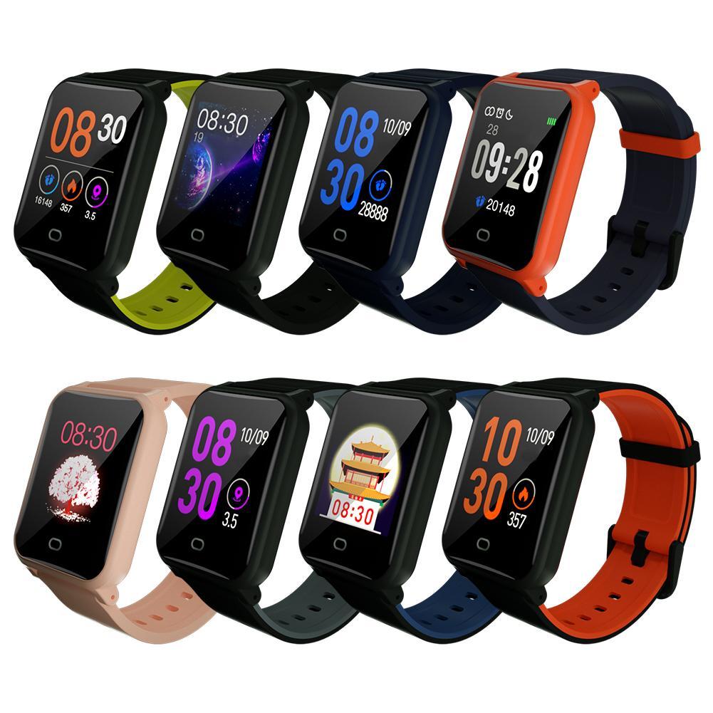 B11 Inteligente Pulseira 9.9 milímetros Corpo de Fitness Relógio À Prova D Água de Monitoramento Sono Freqüência Cardíaca Relógio Inteligente Para Android E IOS8.0 PK s266