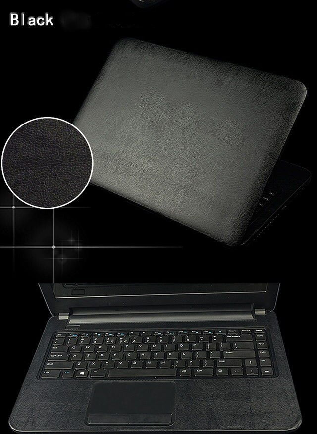 "KH Laptop Crocodile Cobra Couro De fibra de Carbono Adesivo Pele Capa Guarda Protetor para DELL Inspiron 14-7466 14"""