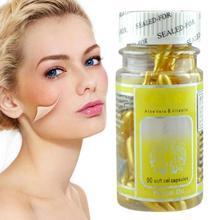 90pcs Serum Wrinkle Removing Whitening Cream VE Vitamin E Capsules Freckle Capsule ZBY6438