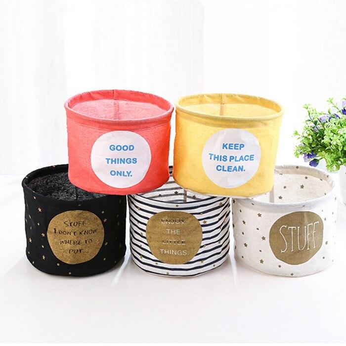 Durable Cotton Linen Storage Bag Creative Wardrobe Hang Bag Wall Pouch Cosmetic Toys Sundries Storage Children Room Organizer